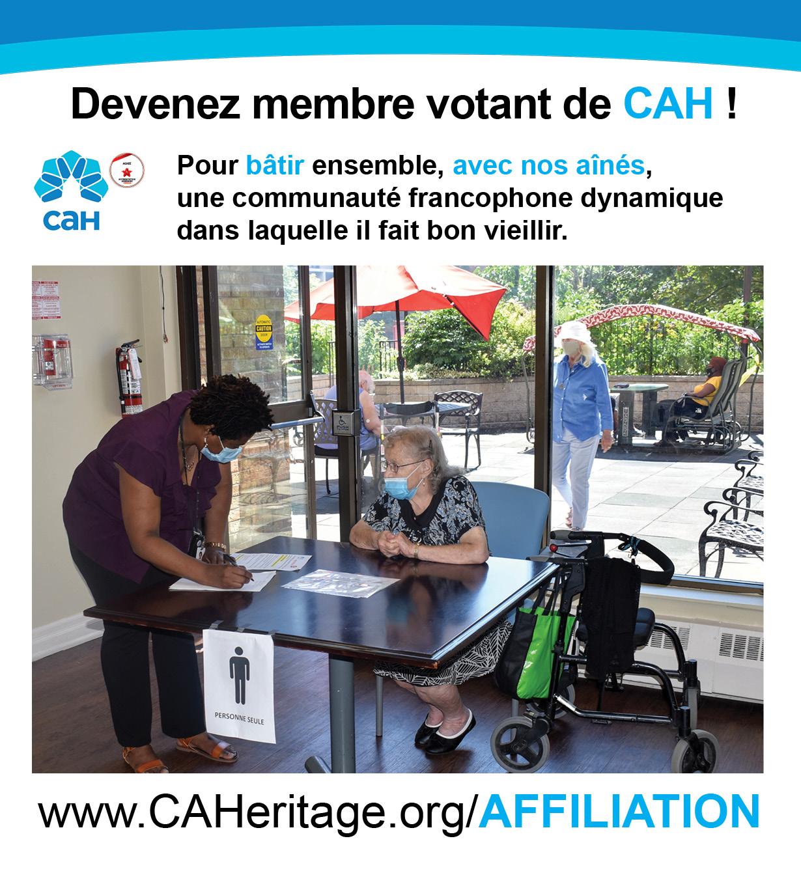 AFFILIATION-Devenez membre de CAH