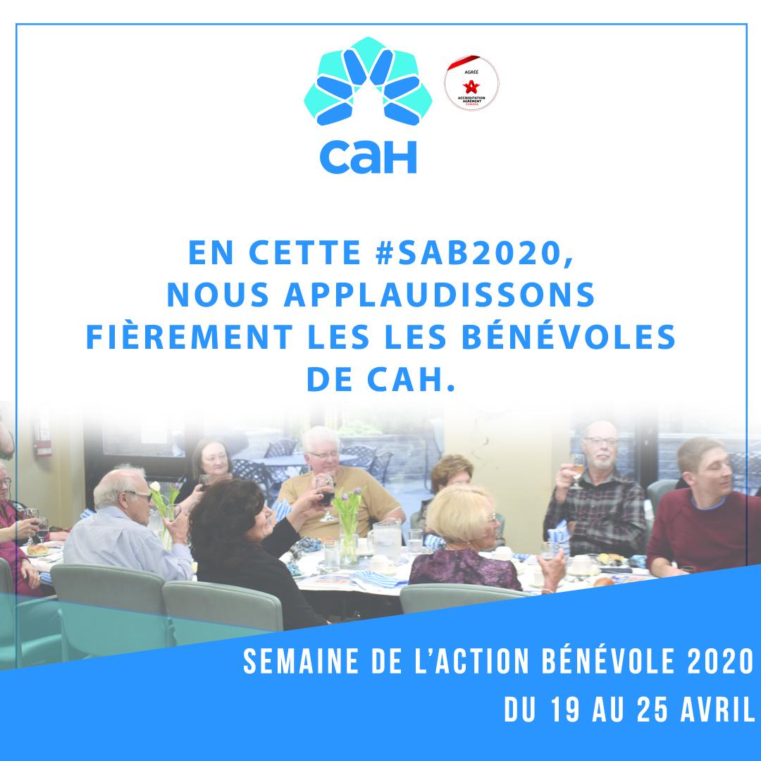 Semaine nationale de l'action bénévole 2020