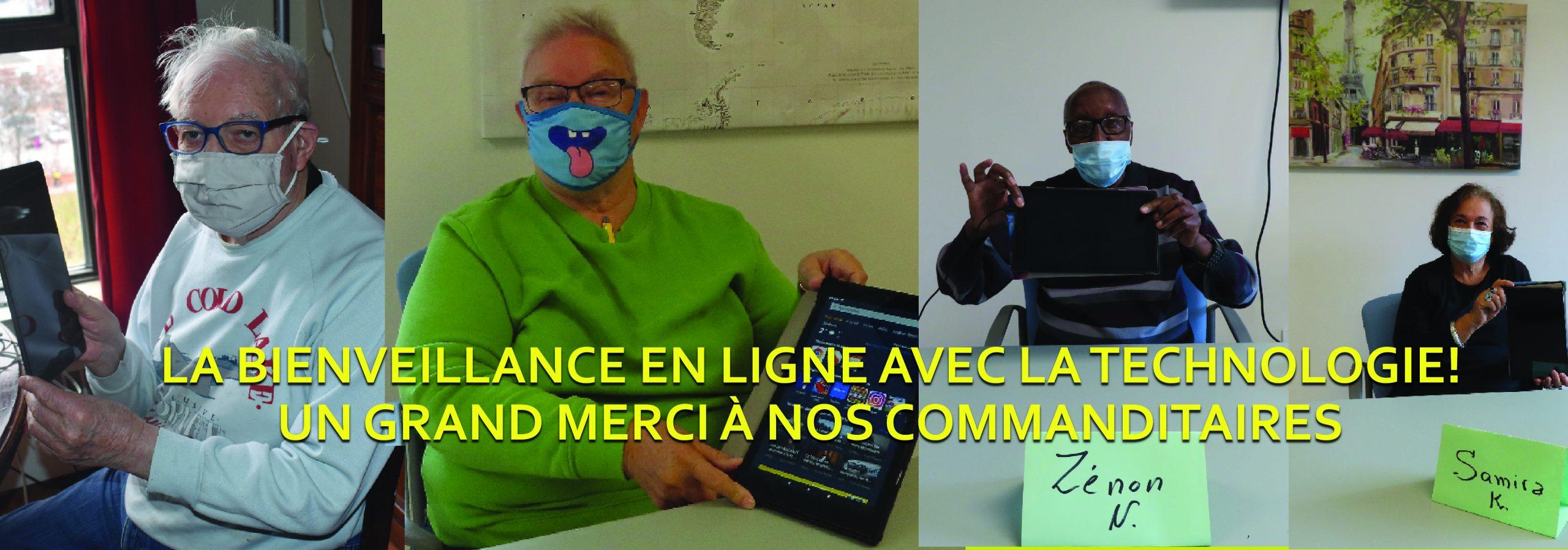 LA BIENVEILLANCE EN LIGNE AVEC LA TECHNOLOGIE!